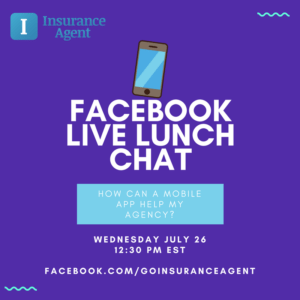 FB LIVE Lunch Chat - Insurance Agent