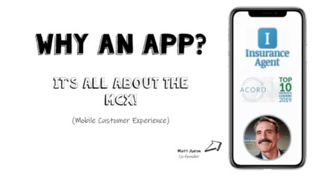 Why an insurance app?